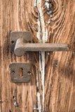 Deurkruk Ph1928, ruw brons_