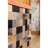 Pure Tiles - mat wit brons 10x20 cm_