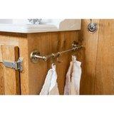 Keuken roede schuifhaak gesloten PRh 52mm, wit brons_