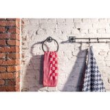 Handdoekring, ruw metaal_