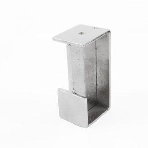 Schuifdeurgreep PRSD, wit brons