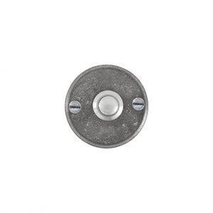 Deurbel / beldrukker BS 50 rond, ruw metaal