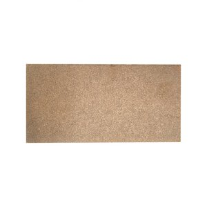 Tegel rechthoekig 10x20 cm, ruw brons
