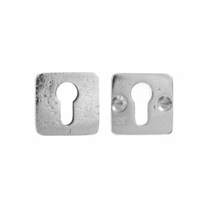 Veiligheidscilinderrozet SQU, wit brons